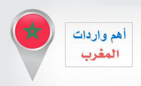 أهم واردات المغرب