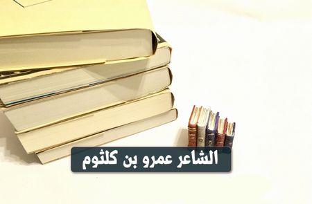 الشاعر عمرو بن كلثوم