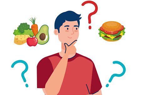 النظام الغذائي المناسب