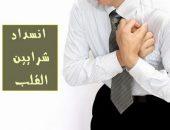 انسداد شرايين القلب