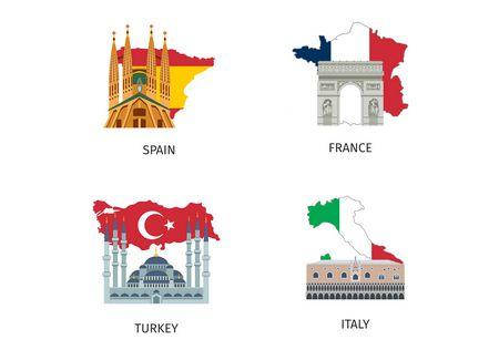 هذه أعلام دول أوروبية ممتازة نقترحها عليك للرحلات السياحية