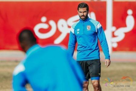 صورة أحمد فتحي مع النادي الأهلي