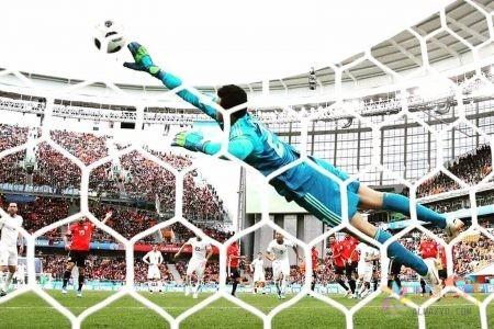 صورة محمد الشناوي في مباراة أوراجواي في كأس العالم - روسيا