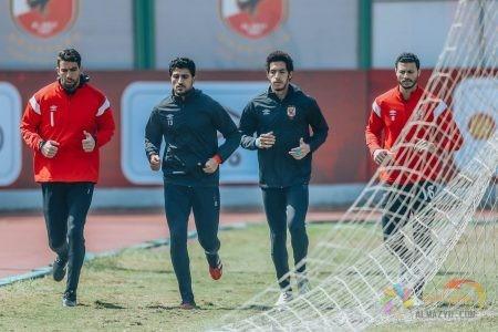 صورة محمد الشناوي مع كلّاً من: شريف إكرامي، مصطفى شوبير، علي لطفي