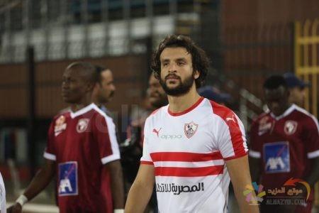 صورة محمود علاء ، المباريات الإفريقية ، نادي الزمالك