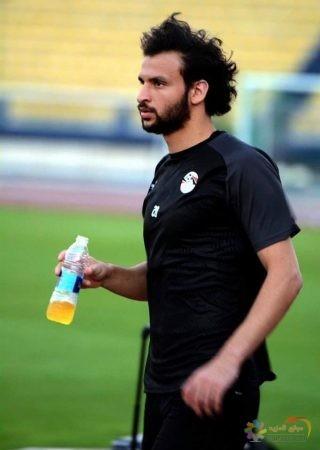 صورة محمود علاء ، تدريبات المنتخب المصري