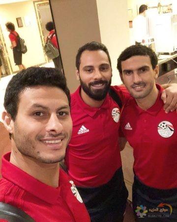 صورة جنش ، محمد الشناوي ، محمد عواد ، حارس الزمالك ، منتخب مصر