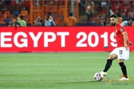 صورة عبدالله السعيد في المنتخب المصري