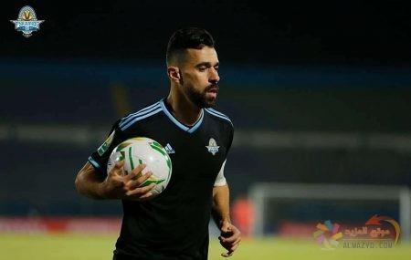 صورة عبدالله السعيد مع نادي Pyramids F.C