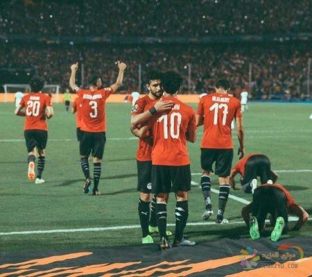 صور محمد صلاح , المنتخب المصري