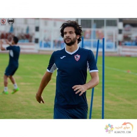 صورة ، اللاعب ، محمود علاء ، تدريبات نادي الزمالك