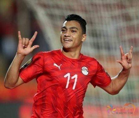 صورة مصطفى محمد ، القميص رقم ١١ ، منتخب مصر الأوليمبي