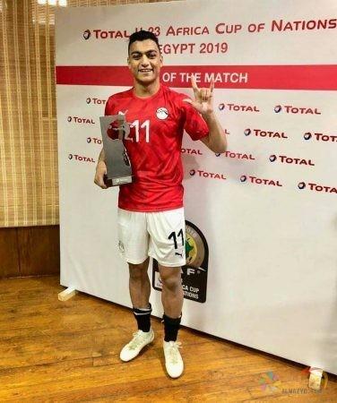 صور مصطفى محمد ، لقب الهداف، كأس الأمم الإفريقية تحت 23 عاماً ، منتخب مصر الأوليمبي