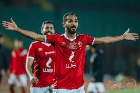 الحاوي يسجل مع النادي الأهلي