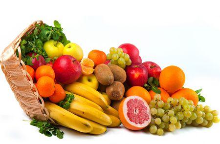 صورة الفواكه والخضروات الطازجة