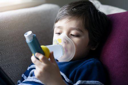 أسباب وأعراض الربو عند الأطفال