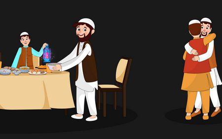 التهنئة في شهر رمضان
