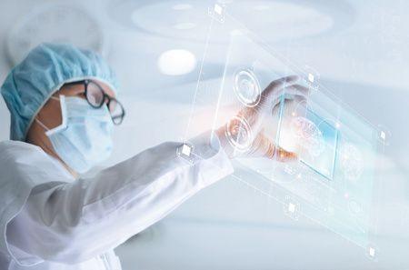 صورة طبيب , التكنولوجيا ومجال الطب