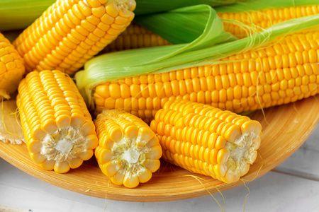 فوائد الكستناء, البطاطا الحلوة,الذرة الصفراء المسلوقة