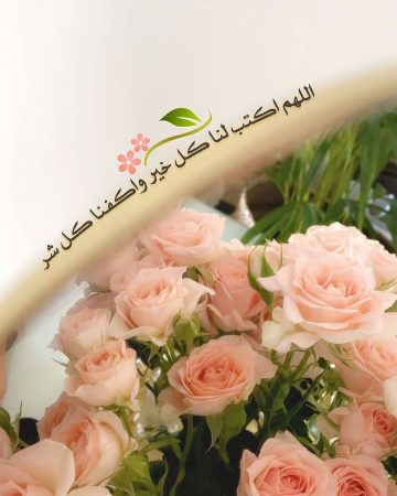 اللهم اكتب لنا كل خير واكفنا كل شر