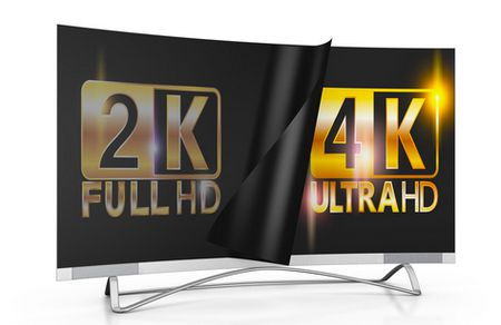 الفرق بين الشاشات, 4K , Full HD