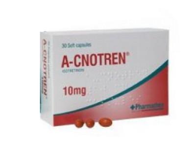 صورة , عبوة , دواء , لعلاج حب الشباب , أ سنوترين , A-cnotren