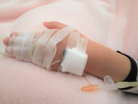 صورة , طفل مريض , الأنيميا عند الأطفال