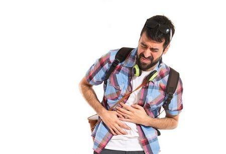 صورة , ألم البطن , مريض , الارتداد المريئي