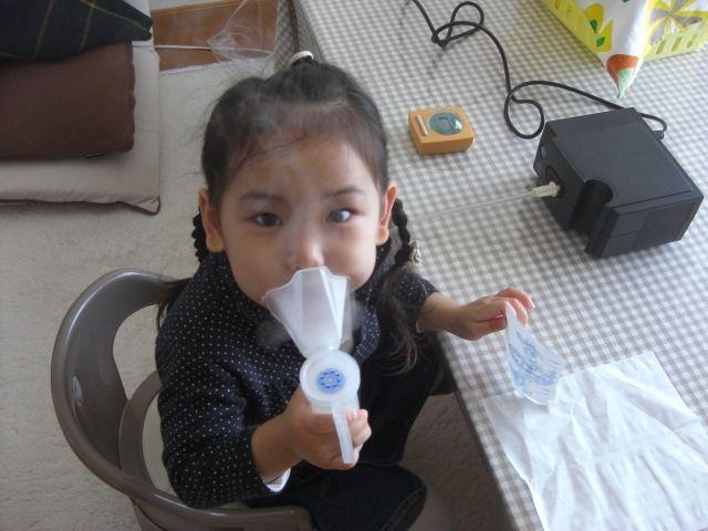 مرض الربو ، صورة، طفلة، أمراض، حساسية