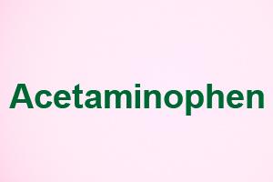 صورة,تصميم, أسيتامينوفين, Acetaminophen