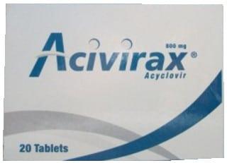صورة, عبوة, أسيفيراكس, Acivirax