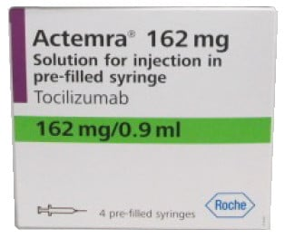 صورة,دواء,علاج, عبوة, اكتيمرا , Actemra