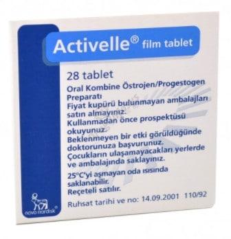 صورة,دواء,علاج, عبوة, أكتفيل , Activelle