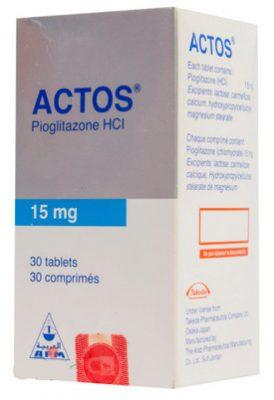 صورة,دواء, عبوة ,أكتوس, Actos