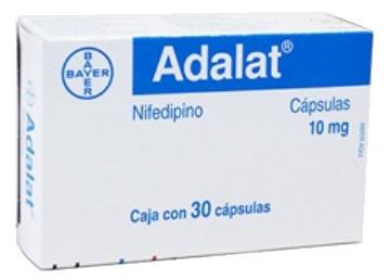 صورة, عبوة, ادلات, دواء, علاج, Adalat