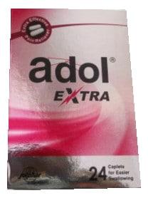 صورة, عبوة, اقراص, أدول اكسترا, Adol Extra
