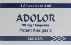 صورة , عبوة , دواء , أمبولات , أدولور , Adolor