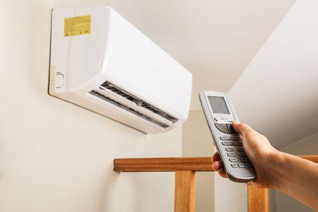 صورة مكيف هواء , وسائل التدفئة المنزلية