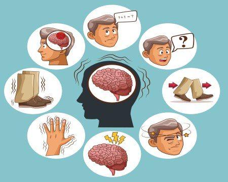 الزهايمر ، الخرف ، الأمراض النفسية ، الشيخوخة
