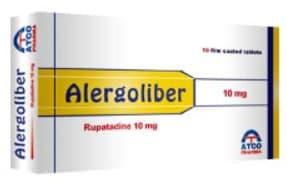صورة,دواء,علاج,عبوة, اليرجوليبر, Alergoliber