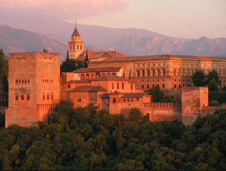 صورة , قصر الحمراء , غرناطة , إسبانيا