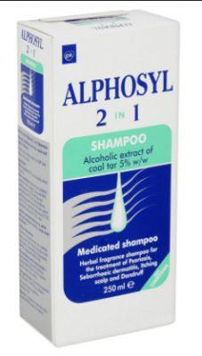 صورة, عبوة, ألفوسيل, Alphosyl , Shampoo