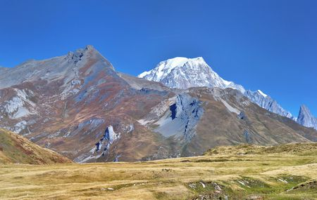 مونت بلانك , جبال الألب , قمة جبلية , أعلى قمة