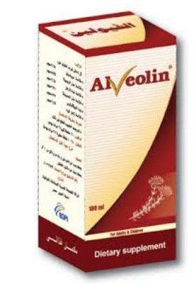 صورة,علاج, عبوة, دواء, ألفيولين , Alveolin