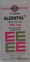 صورة, دواء, علاج, عبوة , الزنتال , Alzental