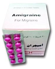صورة , عبوة , دواء , أميجران , Amigraine