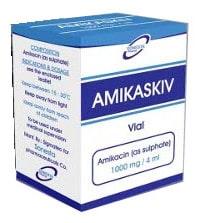 صورة,مضاد حيوي,دواء,علاج, عبوة, أميكاسكيف , Amikaskiv