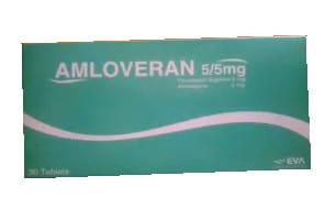 صورة , عبوة , دواء , أقراص , لعلاج إرتفاع ضغط الدم , أملوفيران , Amloveran