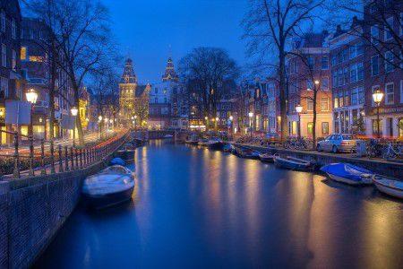 امستردام ، سوق الزهور ، العواصم الأوربية ، متاحف ، القنوات المائية ، القصر الملكي