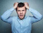 صورة , رجل , الإنفعال , العصبية , الغضب